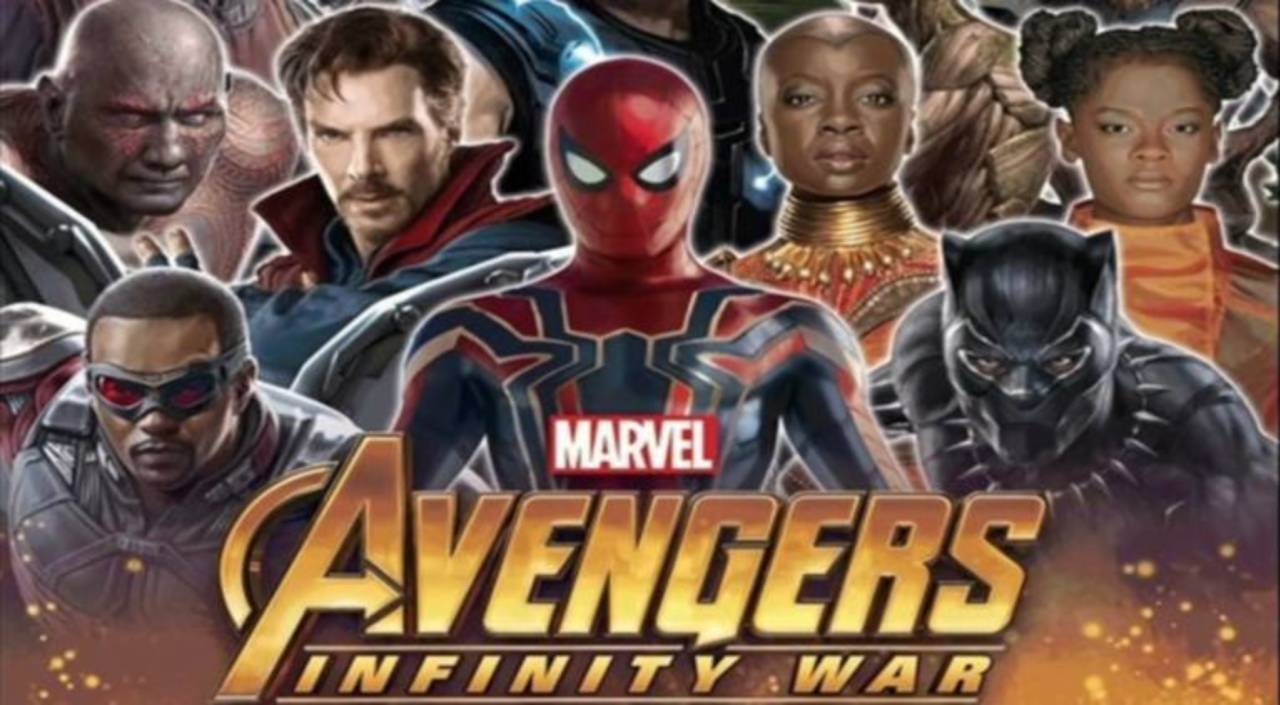 new 'avengers: infinity war' promo art adds more characters