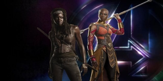 'Avengers: Infinity War's Danai Gurira On Difference Between Marvel And 'The Walking Dead'