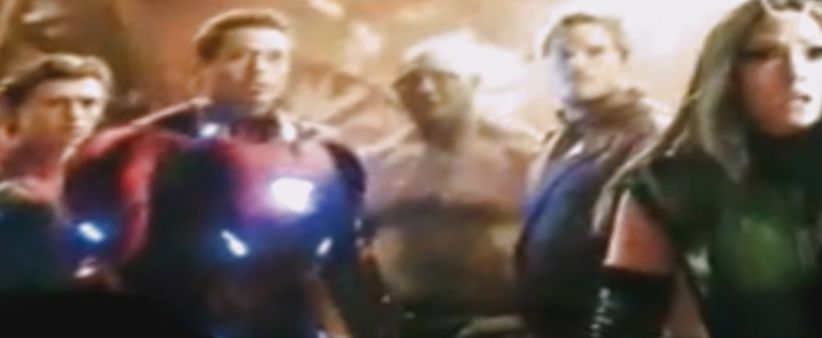 Avengers Infinity War SDCC Footage