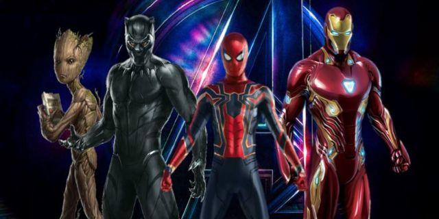 Avengers Infinity War Spider-Man Black Panther Iron Man Comicbookcom