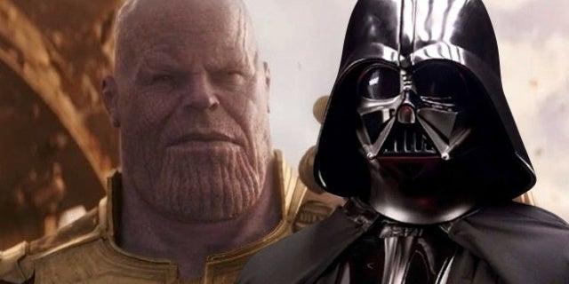 avengers infinity war thanos darth vader