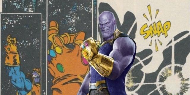 Avengers Infinity War Thanos snap ComicBookcom