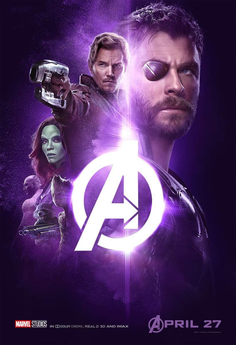 Marvel Releases 5 New Avengers Infinity War Posters