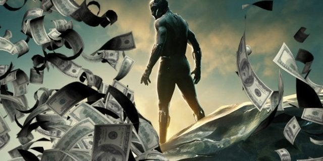 Black Panther 200 million opening weekend box office