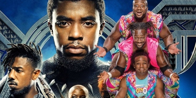 Black-Panther-The-New-Day-WWE