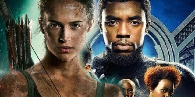 Black Panther Tomb Radier Box Office