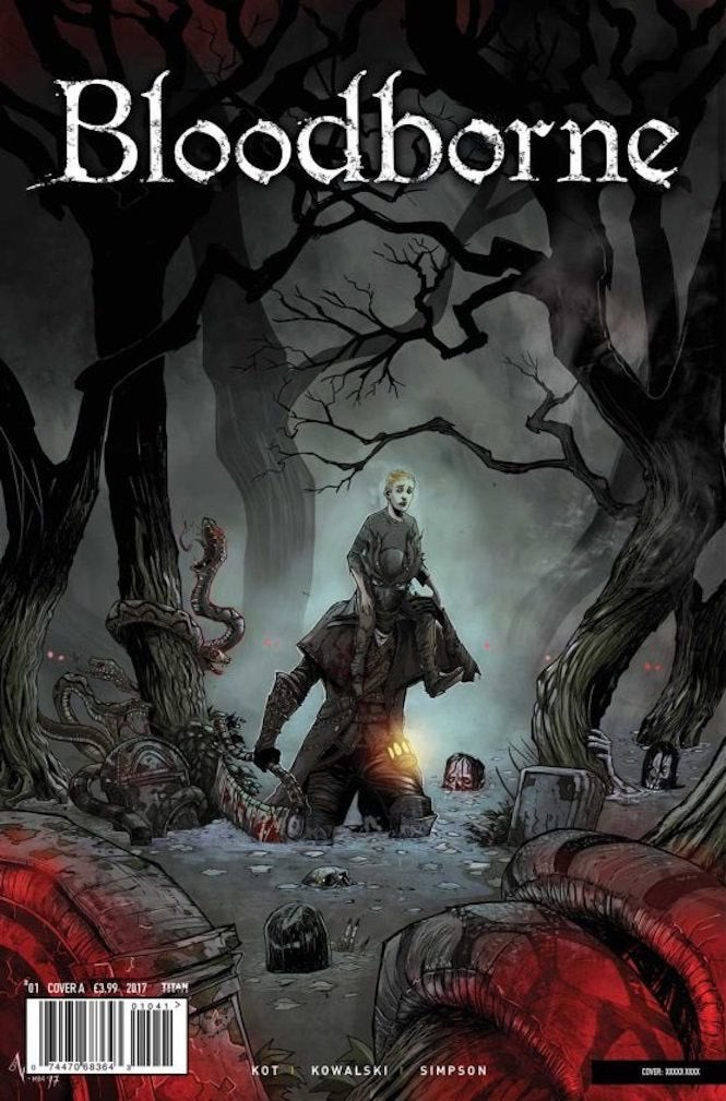 First Round of Bloodborne Comics Sell Out, But More Are On