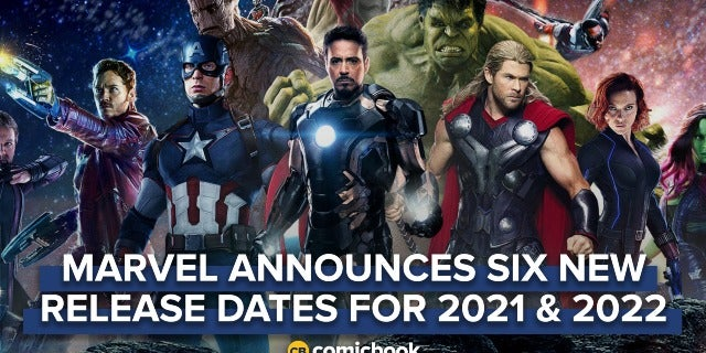 BREAKING: Marvel Announces Six New Movie Release Dates For 2021 And 2022 screen capture