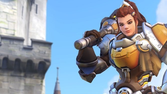 Overwatch's Brigitte springs into action March 20
