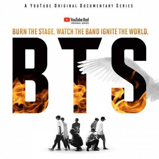 BTS to Launch Original Series 'Burn the Stage' on YouTube Red