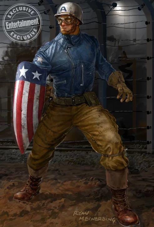 Captain America Ryan Meinerding