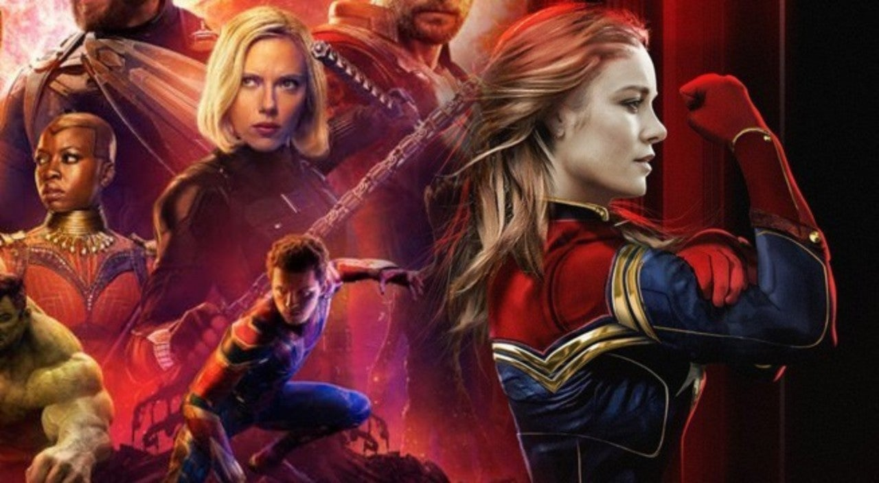 captain marvel infinity war 2