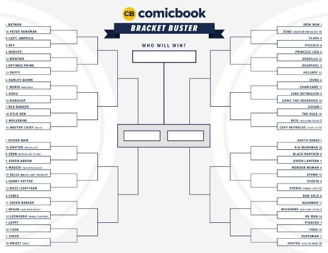 enter the comicbook com bracket buster challenge to win fan fun pack