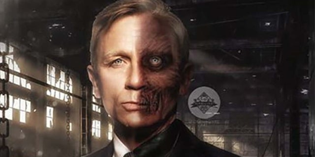 daniel craig two face fan art