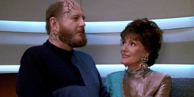 David Ogden Stiers Star Trek The Next Generation