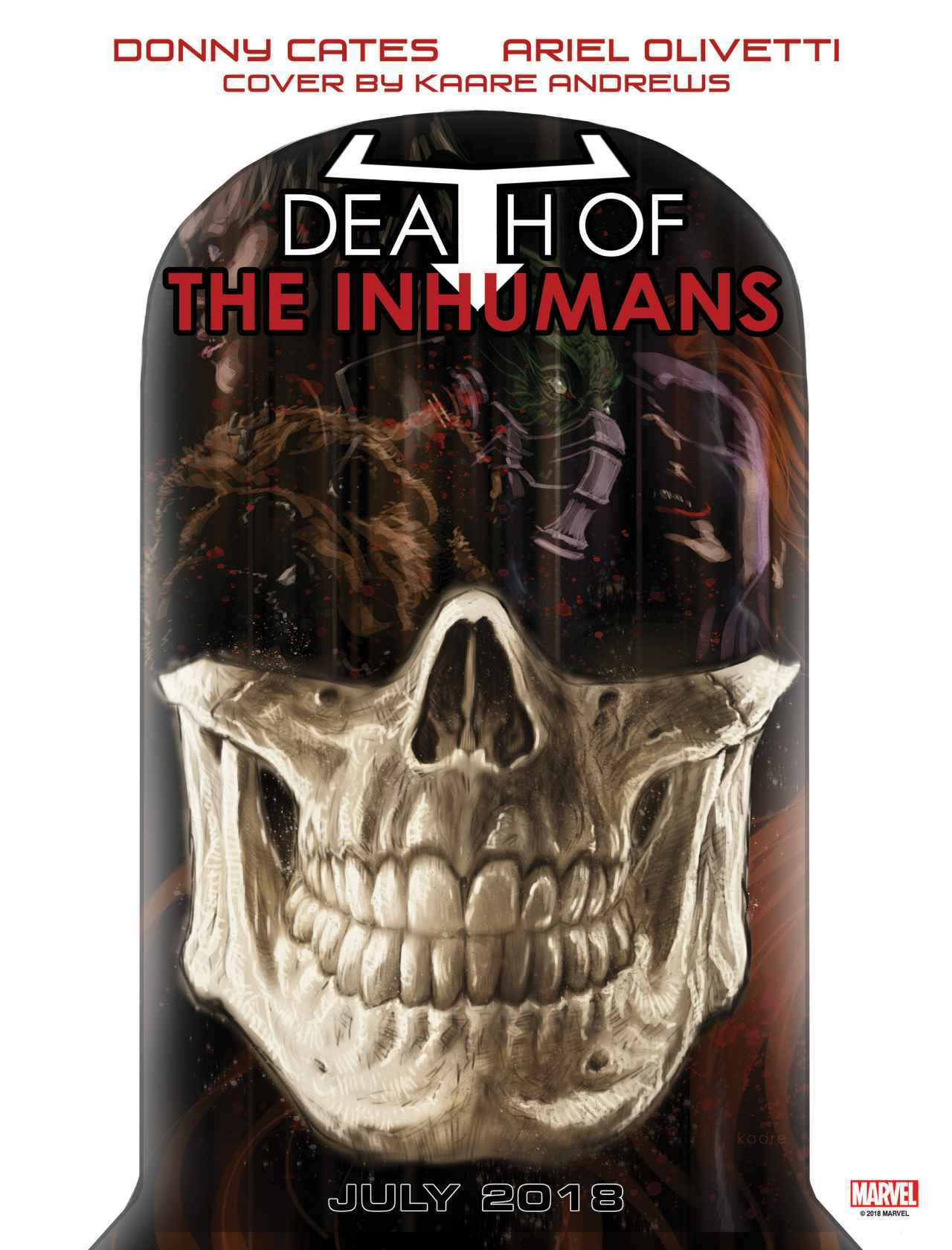 Death of the Inhumans cover