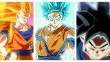 Dragon Ball Goku's Transformations