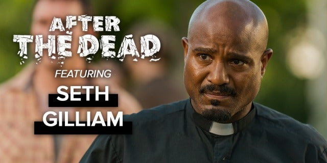 Exclusive Interview with Seth Gilliam screen capture