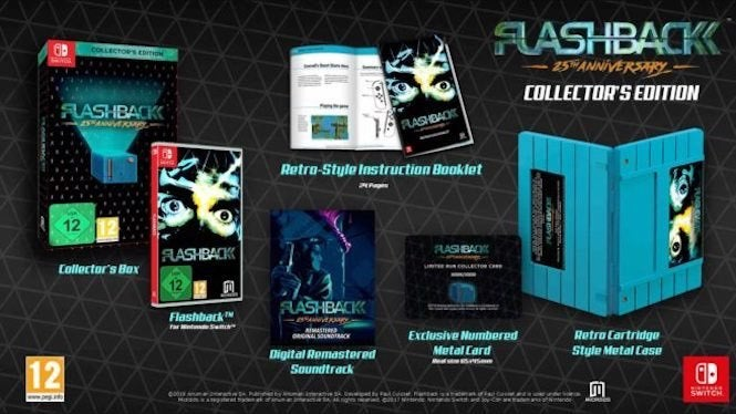 Flashback Coming To Nintendo Switch In Time For Its 25th Anniversary
