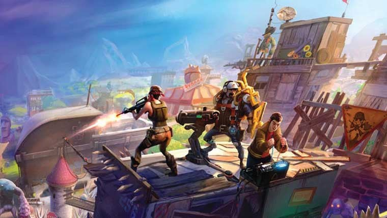 Fortnite Has Nearly the Entire Epic Games Team Working On It