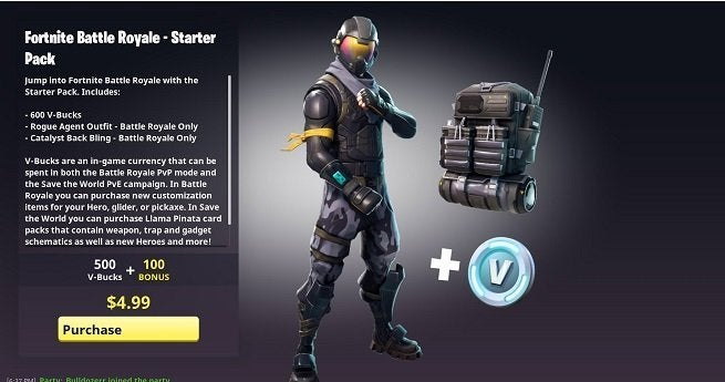Fortnite Battle Royale Starter Pack Release Date and What ...