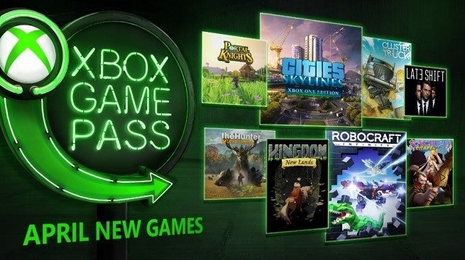 Xbox Game Pass Adds Eight New Games In April