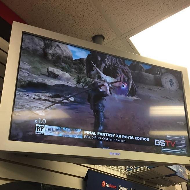 GameStop TV Advertises Final Fantasy XV for Nintendo Switch