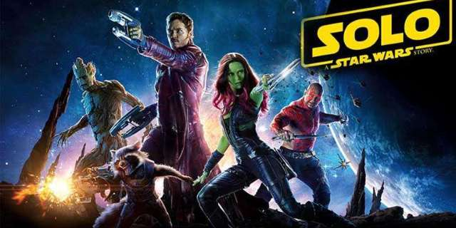 guardians of the galaxy solo a star wars story
