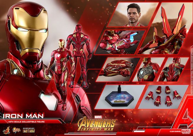Hot Toys - Avengers 3 - Iron Man (Diecast) collectible figure_PR29