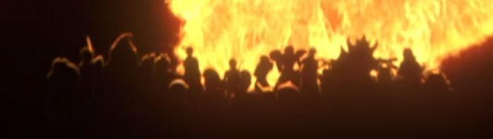 Who is in the Fiery Character Silhouette ? - Super Smash