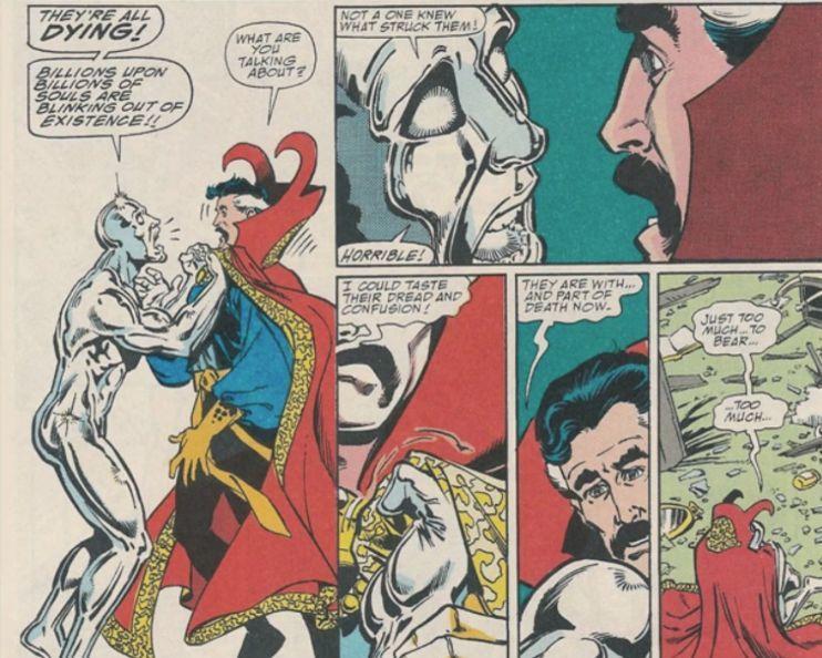 Infinity Gauntlet Doctor Strange Silver Surfer