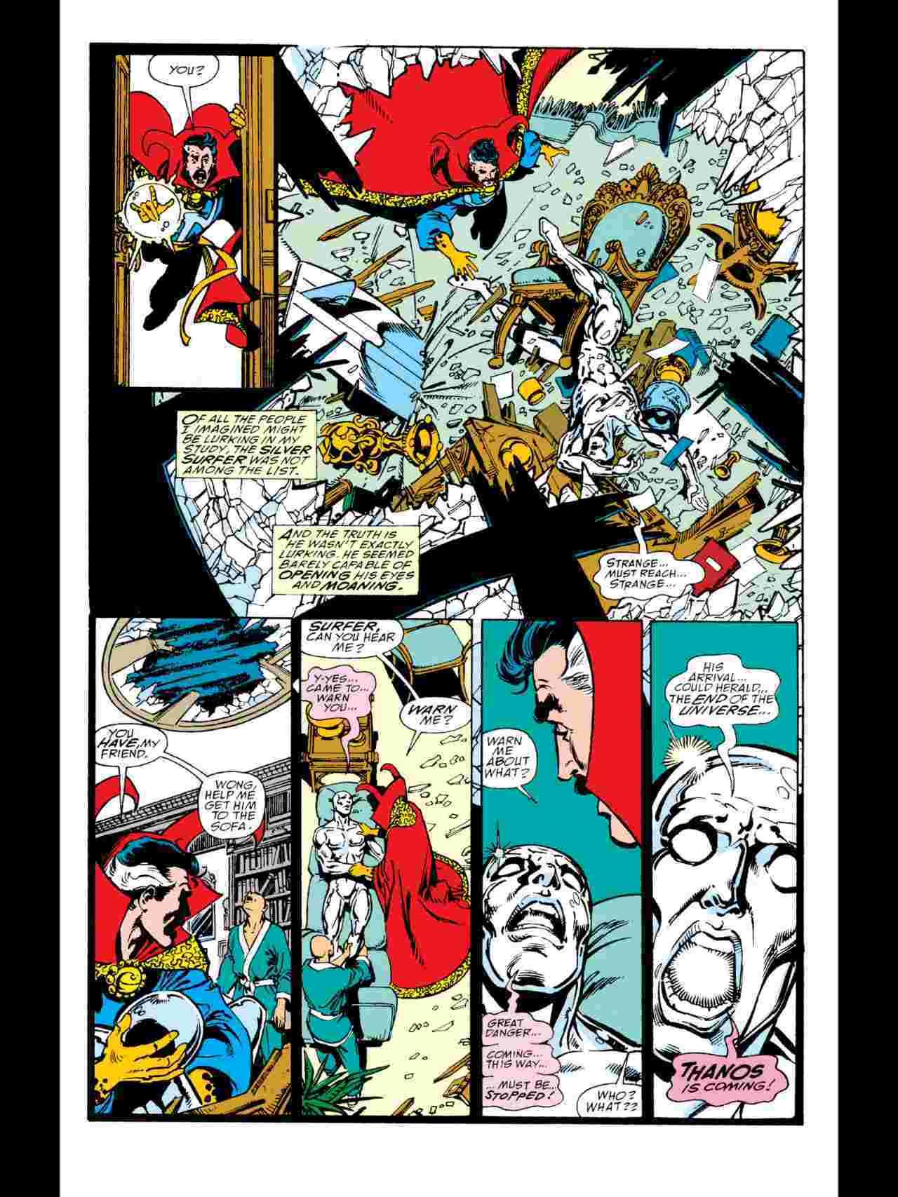 Infinity Gauntlet Silver Surfer Doctor Strange
