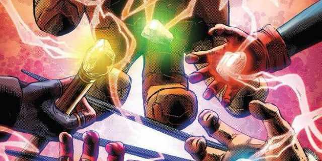 Infinity Stones - Cover