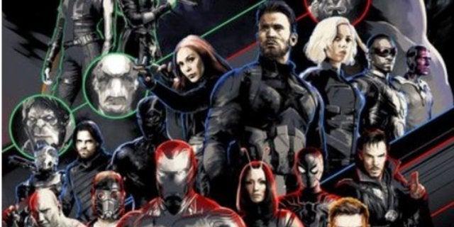 infinity war promo poster