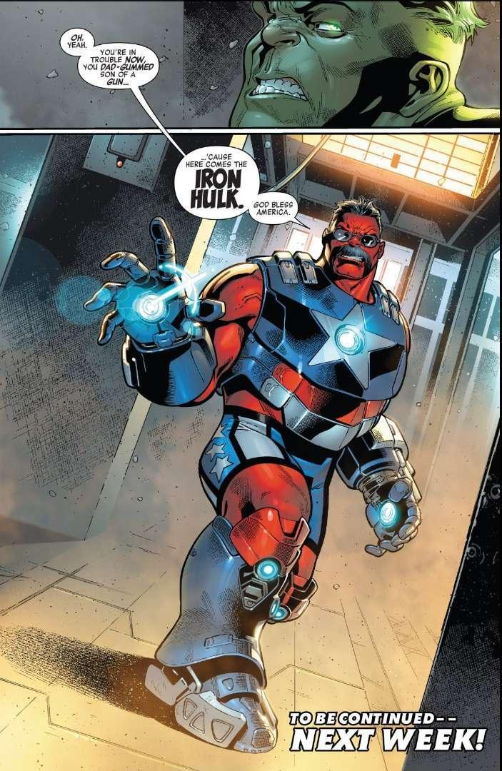 Iron Hulk Avengers