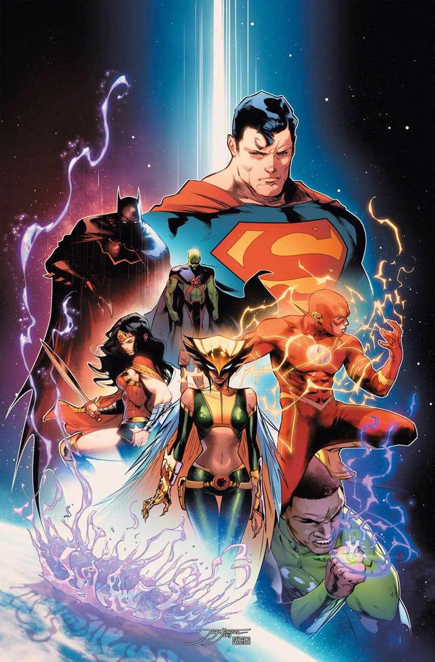 Dc Comics Justice League : Dc officially relaunching justice league