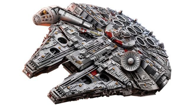 Get the LEGO 'Star Wars' Ultimate Millennium Falcon 75192 Set ...