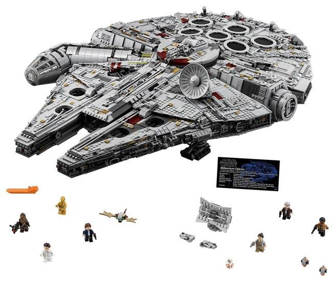 The LEGO Ultimate Millennium Falcon Set is Back For Star Wars Day ...