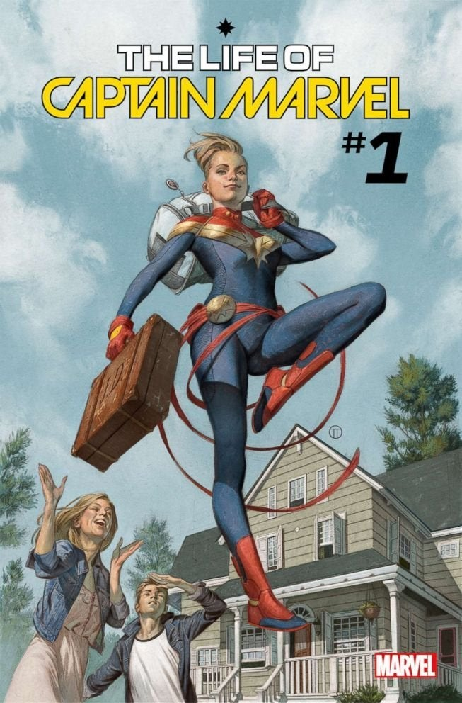 life of captain marvel 1 cover