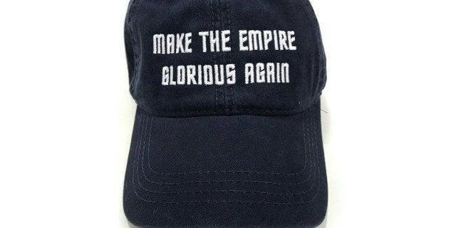 Make the Empire Glorious Again Hat Star Trek