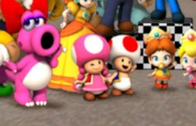 Nintendo S Toad And Toadette Appear To Be An Item Or Were At