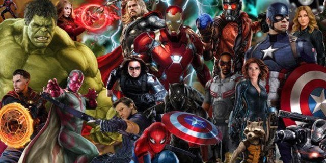Marvel Cinematic Universe Movie Characters