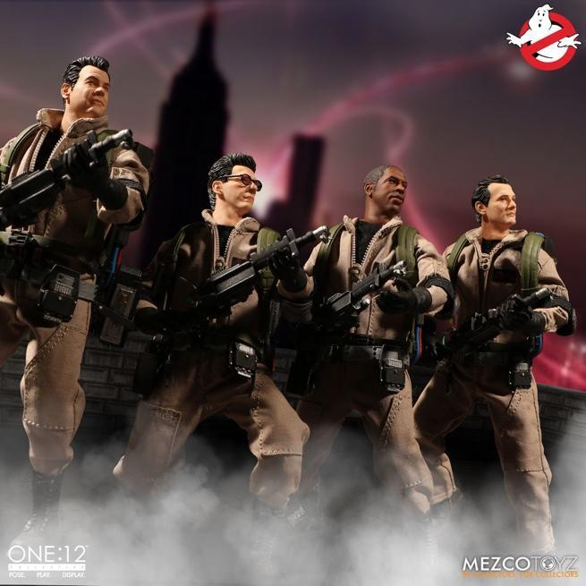 mezco-ghostbusters-set