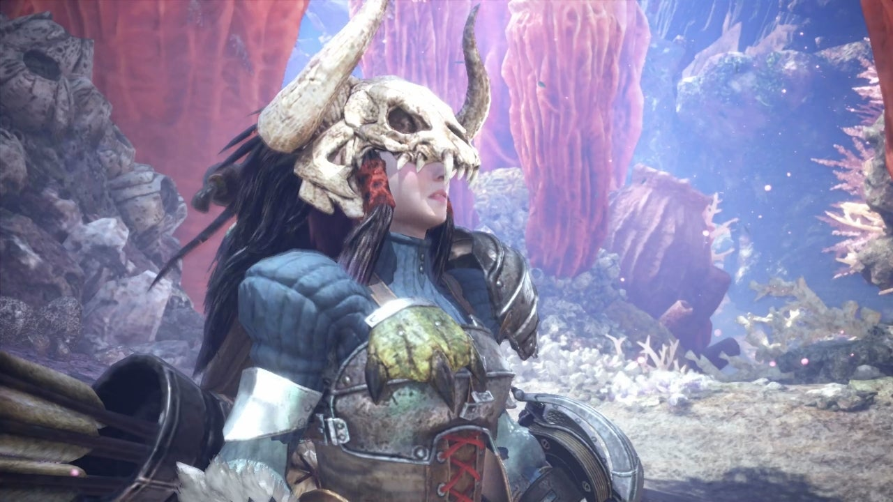 You can now change your appearance in Monster Hunter