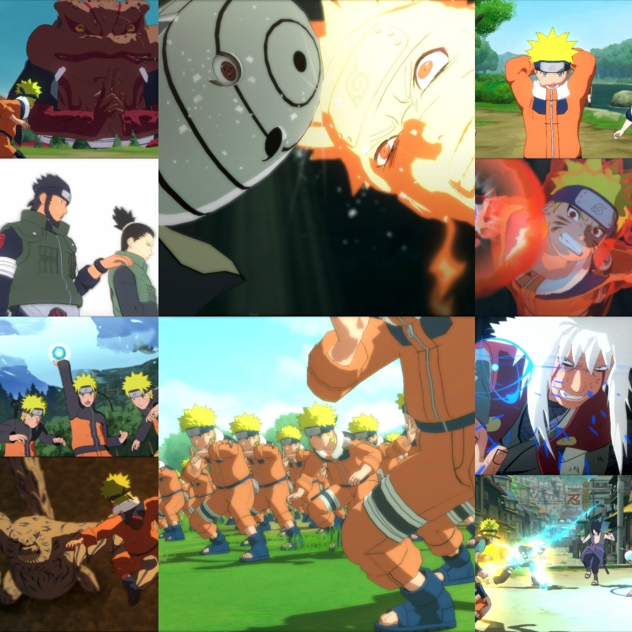 Naruto Shippuden: Ultimate Ninja Storm Trilogy Bursts Into Switch eShop April 26