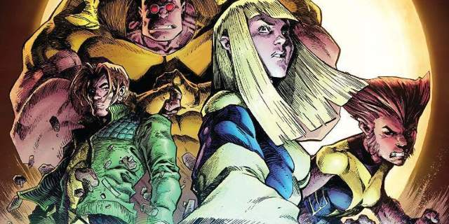 New Mutants Dead Souls 1