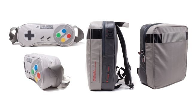 Were You In The Market For A Nes Themed Backpack Or Snes Messenger Bag I Have To Say That It Wasn T Forefront Of My Mind But Is Now