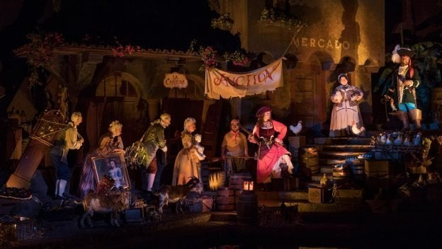 Disneyland to remove bride auction scene from 'Pirates of the Caribbean' ride