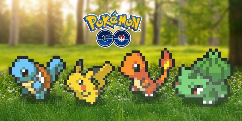 Resultado de imagen para pokémon go 8 bit