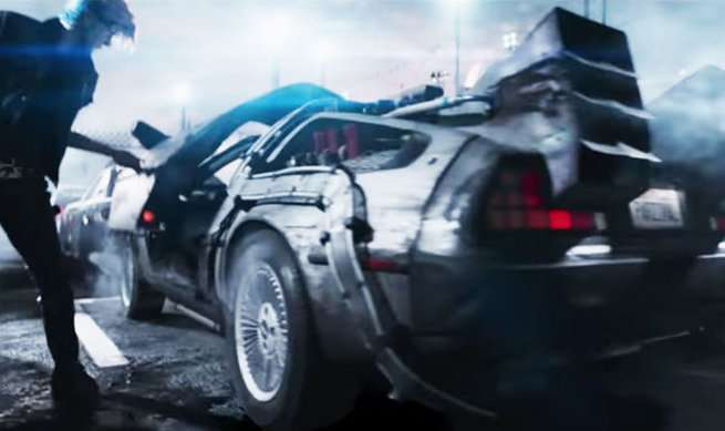 Ready Player One Easter Eggs - Back To The Future